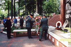 Laying of the Wreath.