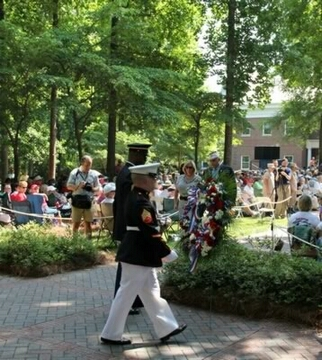 Laying The Wreath 14