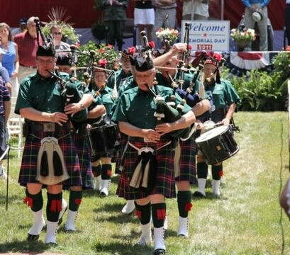 Pipes and Drums 10 - 5-30-11